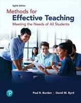 9780134695747-0134695747-Methods for Effective Teaching: Meeting the Needs of All Students (8th Edition)