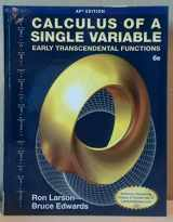 9781285775913-1285775910-Calculus of a Single Variable (Early Transcendental Functions) 6e-AP edition