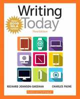 9780134586410-0134586417-Writing Today, MLA Update Edition (3rd Edition)