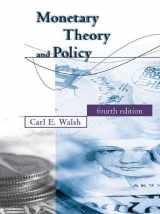 9780262035811-0262035812-Monetary Theory and Policy (MIT Press)