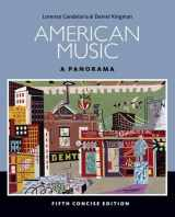 9781285446219-1285446216-American Music: A Panorama, 5th Concise Edition