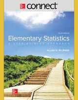 9781260041798-1260041794-Connect hosted by ALEKS Access Card 52-Week for Elementary Statistics: A Step by Step Approach