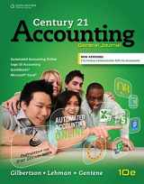 9781305947771-1305947770-Century 21 Accounting: General Journal, Copyright Update (Century 21 Accounting Series)