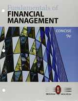 9781337204835-1337204838-Bundle: Fundamentals of Financial Management, Concise Edition, Loose-Leaf Version, 9th + LMS Integrated for Aplia, 1 term Printed Access Card