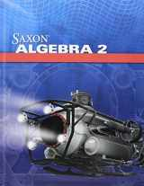 9780547625881-054762588X-Saxon Algebra 2, 4th Edition: Kit with Solutions Manual
