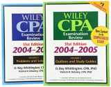 Wiley CPA Examination Review, Set (Wiley CPA Examination Review: Outlines & Study Guides / Problems & Solutions (2v.))