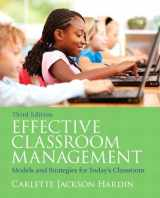 Effective Classroom Management: Models and Strategies for Today's Classrooms (3rd Edition)