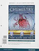 9780134261256-0134261259-Fundamentals of General, Organic, and Biological Chemistry, Books a la Carte Plus MasteringChemistry with eText -- Access Card Package (8th Edition)