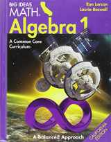 Big Ideas Math Math Algebra 1 California Edition