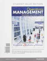 9780134111056-0134111052-Operations Management: Processes and Supply Chains, Student Value Edition Plus MyLab Operations Management with Pearson eText -- Access Card Package (11th Edition)