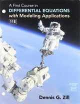 Bundle: A First Course in Differential Equations with Modeling Applications, Loose-leaf Version, 11th + Enhanced WebAssign Printed Access Card