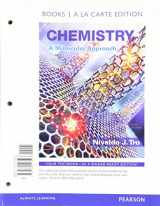 Chemistry: A Molecular Approach, Books a la Carte Plus MasteringChemistry with eText -- Access Card Package (4th Edition)