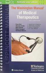 9781496338518-1496338510-The Washington Manual of Medical Therapeutics (Lippincott Manual Series)