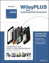 9781119371618-1119371619-Operations and Supply Chain Management, 9th Edition WileyPLUS Registration Card + Loose-leaf Print Companion