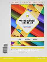 9780321914743-0321914740-Mathematical Reasoning for Elementary Teachers, Books a la Carte Edition Plus MyMathLab -- Access Card Package (7th Edition)