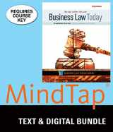9781337061575-1337061573-Bundle: Business Law Today, Standard: Text & Summarized Cases, Loose-Leaf Version, 11th + MindTap Business Law, 1 term (6 months) Printed Access Card
