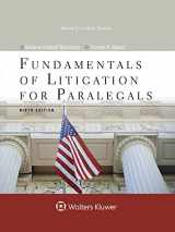 9781454873389-1454873388-Fundamentals of Litigation for Paralegals (Aspen Paralegal)