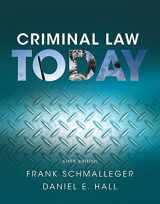9780134163734-0134163737-Criminal Law Today (6th Edition)
