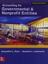Accounting for Governmental & Nonprofit Entities w/Connect