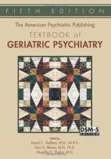 9781585624843-1585624845-The American Psychiatric Publishing Textbook of Geriatric Psychiatry (American Psychiatric Press Textbook of Geriatric Psychiatry)
