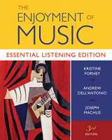 The Enjoyment of Music: Essential Listening Edition (Third Essential Learning Edition)