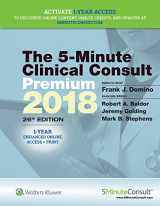 9781496374653-1496374657-5-Minute Clinical Consult Premium 2018 (The 5-Minute Consult Series)