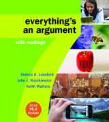 9781319085742-1319085741-Everything's an Argument with Readings with 2016 MLA Update
