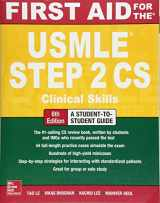 9781259862441-1259862445-First Aid for the USMLE Step 2 CS, Sixth Edition