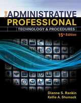 9781305581166-1305581164-The Administrative Professional: Technology & Procedures, Spiral bound Version