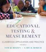 9781118466490-1118466497-Educational Testing and Measurement: Classroom Application and Practice