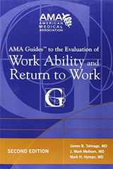 9781603595308-1603595309-AMA Guides to the Evaluation of Work Ability and Return to Work