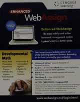 9781285857701-1285857704-WebAssign, 1 term (6 months) Printed Access Card for Developmental Math, Single-Term Courses