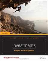 9781118975589-1118975588-Investments, Binder Ready Version: Analysis and Management