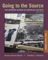9781319106287-1319106285-Going to the Source, Volume II: Since 1865: The Bedford Reader in American History