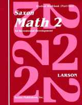 9780939798827-0939798824-Saxon Math 2: An Incremental Development Part 1 & 2 (Workbook and Fact Cards-2  volume set)