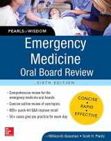 9780071843621-0071843620-Emergency Medicine Oral Board Review: Pearls of Wisdom, Sixth Edition