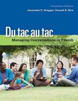 9781133311270-113331127X-Du tac au tac: Managing Conversations in French (with Premium Web Site Printed Access Card)