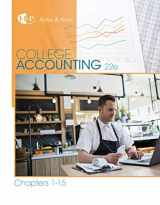 College Accounting, Chapters 1-15 (New in Accounting from Heintz and Parry)