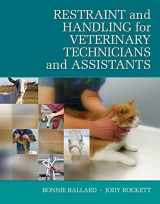 9781435453586-1435453581-Restraint & Handling for Veterinary Technicians & Assistants (Veterinary Technology)