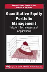 9781584885580-1584885580-Quantitative Equity Portfolio Management: Modern Techniques and Applications (Chapman and Hall/CRC Financial Mathematics Series)