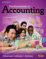 Fundamentals of Accounting: Course 1 (C21 Accounting, 10e)