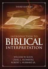 9780310524175-0310524172-Introduction to Biblical Interpretation: Third Edition
