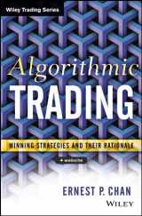 9781118460146-1118460146-Algorithmic Trading: Winning Strategies and Their Rationale