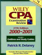 Wiley CPA Examination Review 2000-2001 (Cpa Examination Review (2 Volume Set))