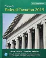 Pearson's Federal Taxation 2019 Comprehensive Plus MyLab Accounting with Pearson eText -- Access Card Package (32nd Edition)