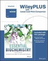 9781119360261-1119360269-Essential Biochemistry, 4e WileyPLUS Registration Card + Loose-leaf Print Companion