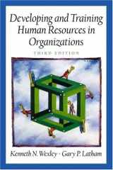 9780130894977-0130894974-Developing and Training Human Resources in Organizations (Prenticee Hall Series in Human Resources) (3rd Edition)
