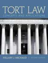 9780132973731-0132973731-Tort Law: Concepts and Applications (2nd Edition)