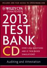 Wiley CPA Exam Review 2013 Test Bank CD, Auditing and Attestation