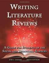 9781936523375-193652337X-Writing Literature Reviews: A Guide for Students of the Social and Behavioral Sciences
